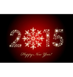2015 happy new year magic background vector