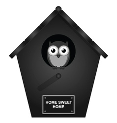 Birdhouse vector