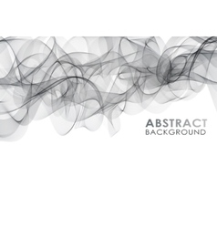 Wavy abstract background vector image