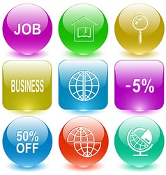job library magnifying glass business -5 50 OFF vector image