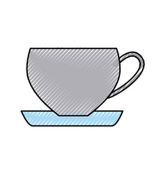 coffee cup isolated icon vector image vector image