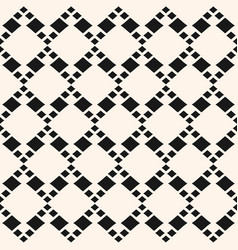 stylish geometric seamless pattern with rhombuses vector image vector image