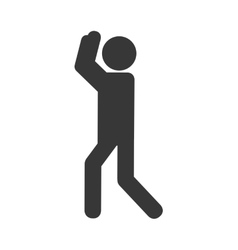 Pictogram person people figure icon vector
