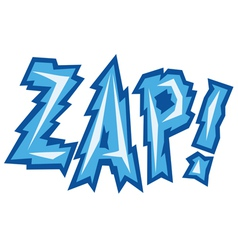 Cartoon - zap vector