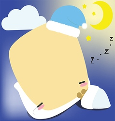 Beyllowpeppi sleeping vector