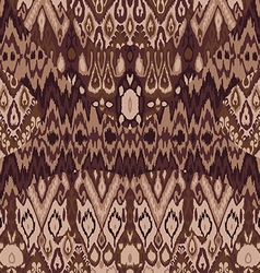 Ethnic tribal carpet plaid pattern fabric wrapping vector image