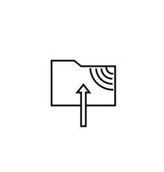 ftp folder icon vector image