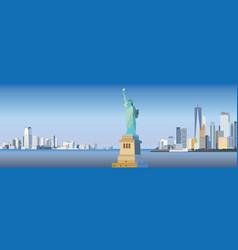 New york-city silhouette vector