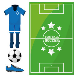 Football soccer sport game to competition vector