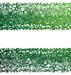 Abstract Christmas background with white vector image