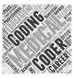 Are continuing education okay for medical coding vector