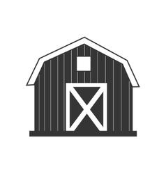 farm barn house icon icon vector image