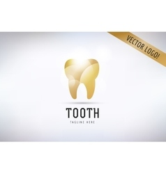 Tooth icon logo template health medical vector