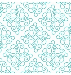 Simple seamless pattern background vector image