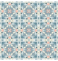 Blue and pink pattern vector