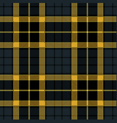 navy blue tartan plaid seamless pattern vector image vector image