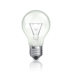 object bulb off vector image