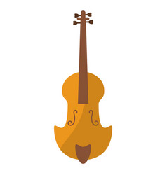 Fiddle classical music instrument vector