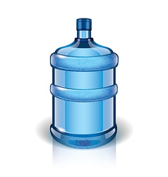 Object big bottle vector