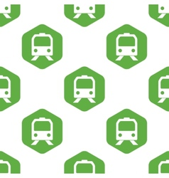 Train face pattern vector