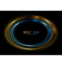 Bright logo vector image vector image