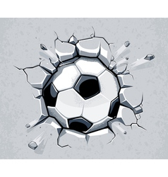 Ball breaking wall vector