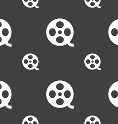 Video sign icon frame symbol seamless pattern on a vector