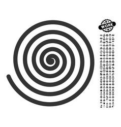 Hypnosis icon with men bonus vector