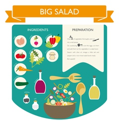 Infographic Food vector image vector image