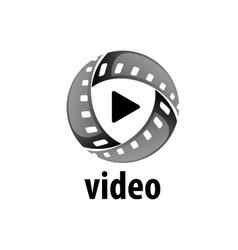Logo film vector