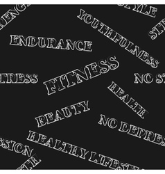 Seamless background fitness vector