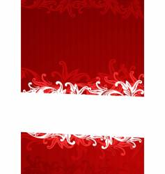 Illustration of red wallpaper vector
