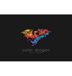 Dragon Logo Color dragon logo Creative logo vector image