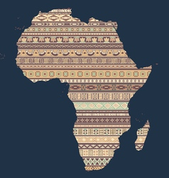 african elements vector image vector image