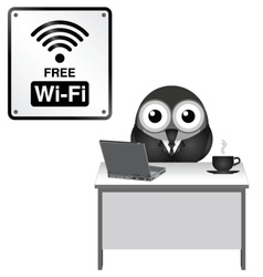 Free wifi vector