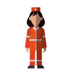 Paramedic icon image vector