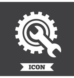Repair tool sign icon Service symbol vector image vector image