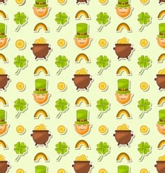 Seamless holiday background for saint patricks day vector