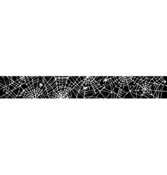 Halloween web background CCCV vector image vector image