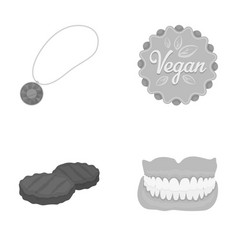 Hygiene business products and other monochrome vector