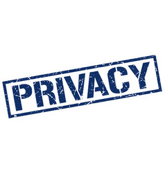 Privacy stamp vector