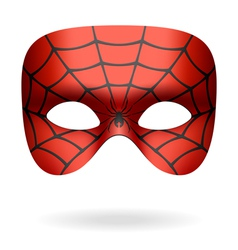 Spider mask vector image vector image