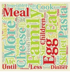 Solve the dinner dilemma text background wordcloud vector
