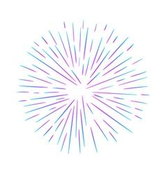 A firework vector