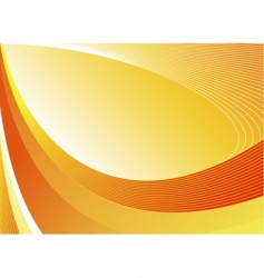 Yellow abstract vector