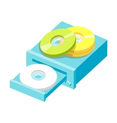 Icon cds vector