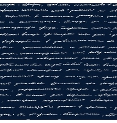 Handwriting Seamless background vector image vector image
