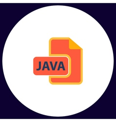 Java computer symbol vector