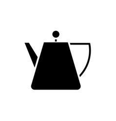 kettle tea - tea spot icon vector image vector image