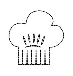 kitchen hat of chef cookingl vector image